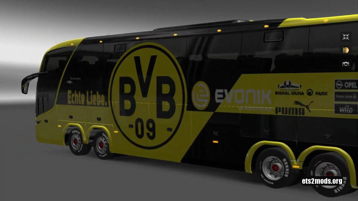 Bus – Marcopolo G7 1600LD Borussia Dortmund Skin