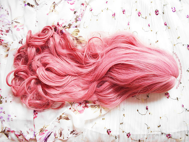 Center Parting Long Wavy Lolita Synthetic Wig