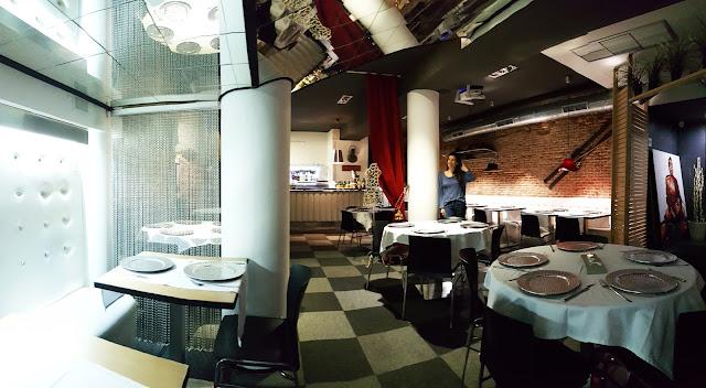 DéFiLé café restaurante Madrid