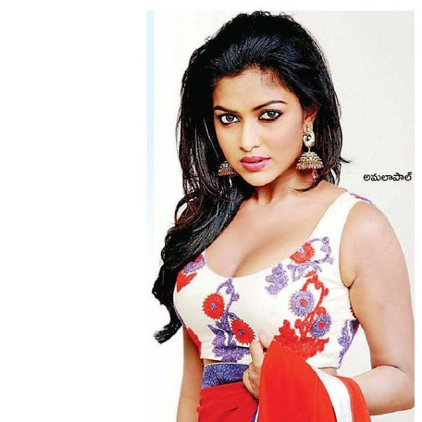 Amala Paul latest photos from Tamil magazines