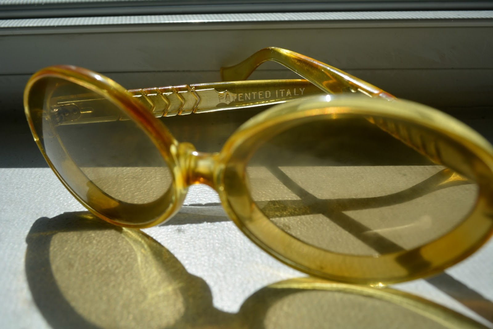 vintage patented italy sunglasses