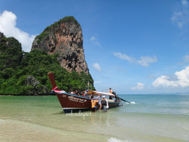 how to get to railay beach from krabi town
