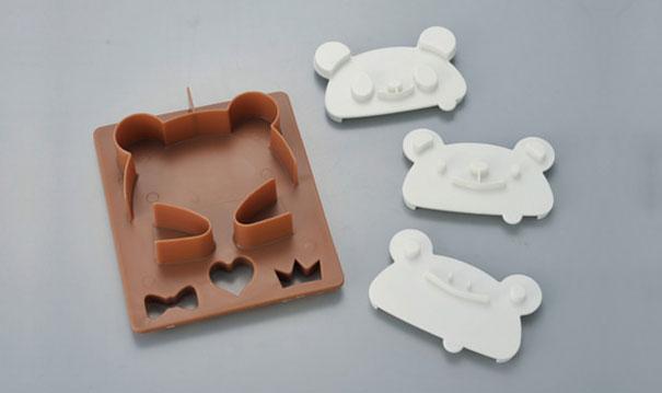 Panda tost damgası seti