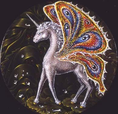 Unicorn With Wings And Rainbow Pictures Of Uni...