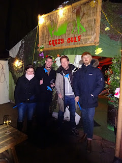 Crazy Golf in London at the Duke of Edinburgh pub in Brixton