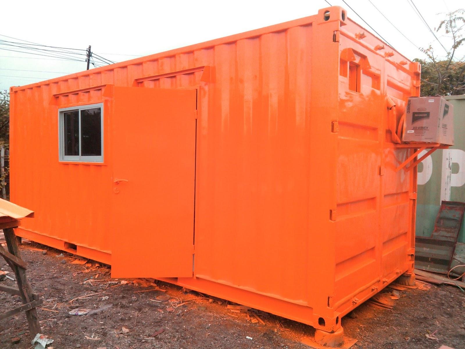 Jual Container Bekas Modifikasi Portacamp Office Mess