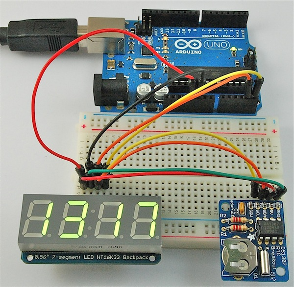 Arduino Clock Display