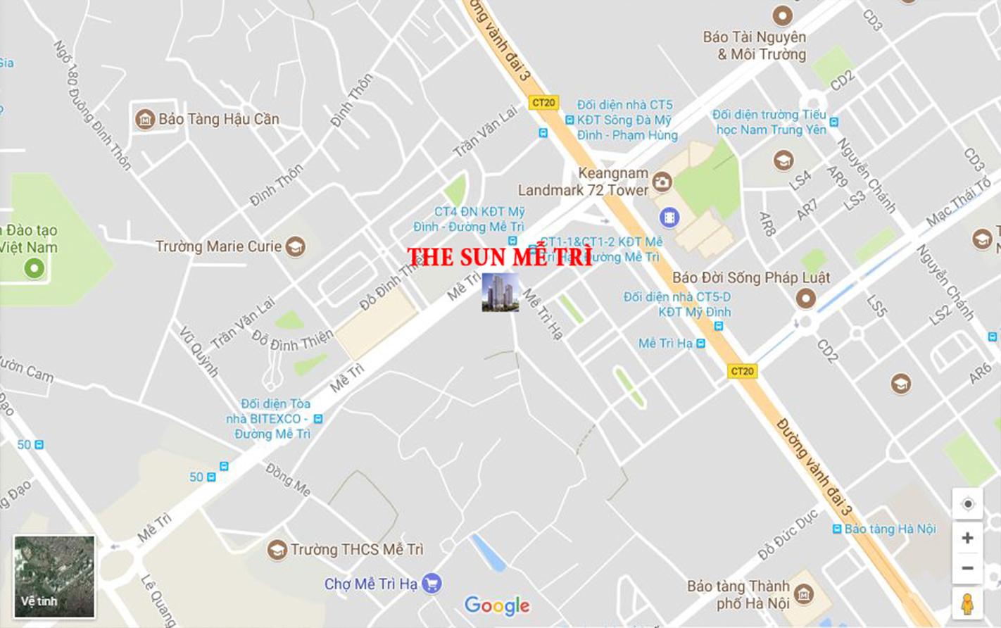 Chung cư The Sun - HH1 Mễ Trì