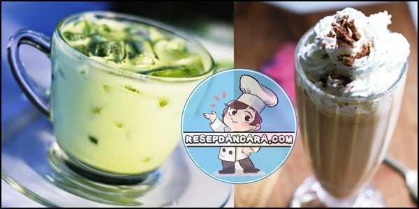 Cara Membuat Green Tea Ice Blend dan MilkShake