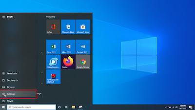 cek versi windows 10