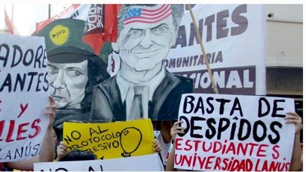 Argentina registra 73.000 despidos durante el mandato de Macri