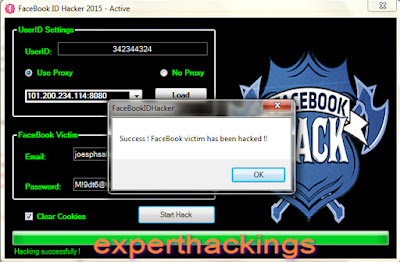 FaceBook ID Hacker 2015