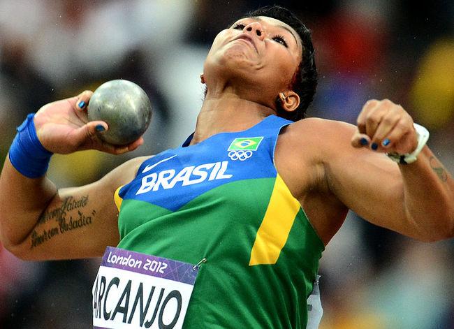 fa47eb1b4 A brasileira Evelyn dos Santos garantiu vaga para a semifinal nos 200m  rasos. Ela correu as eliminatórias em 23s07 e terminou sua bateria na  quarta posição.