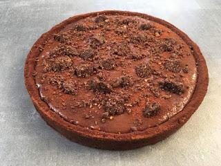 tarte caramel chocolat de christophe adam