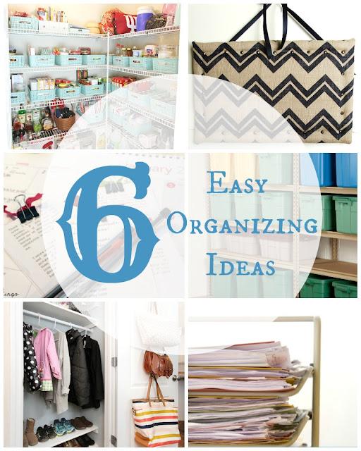 6 Easy Organizing Ideas + BWT #11 | blesserhouse.com