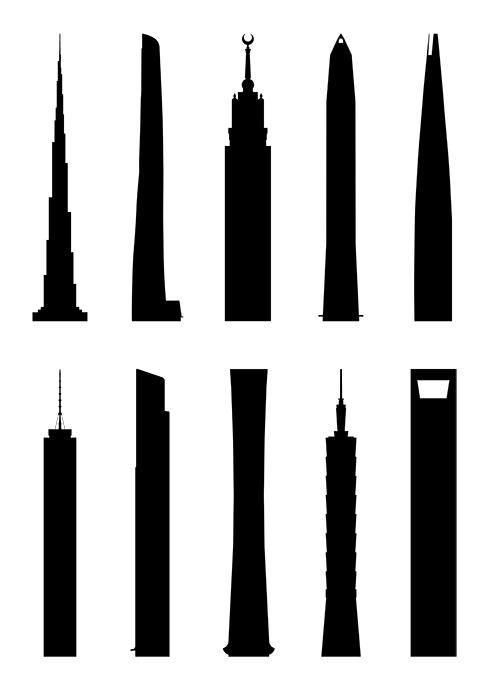 skyscraper-silhouette-vector-free-art-download-siluetas-los-10-rascacielos-mas-altos-del-mundo-descargas-descargar-gratis-skyline-burj-khalifa-dubai
