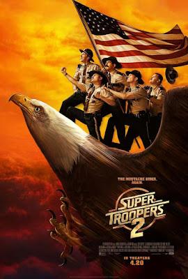 Super Troopers 2 2018 DVD R1 NTSC Latino