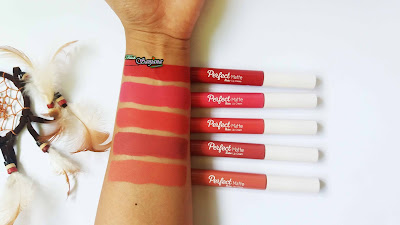 FANBO PERFECT MATTE LIP CREAM ALL SHADES