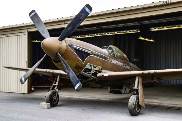 Coolest Barn Find Ever P 51 Mustang