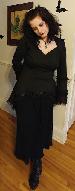 victorian goth, vampire