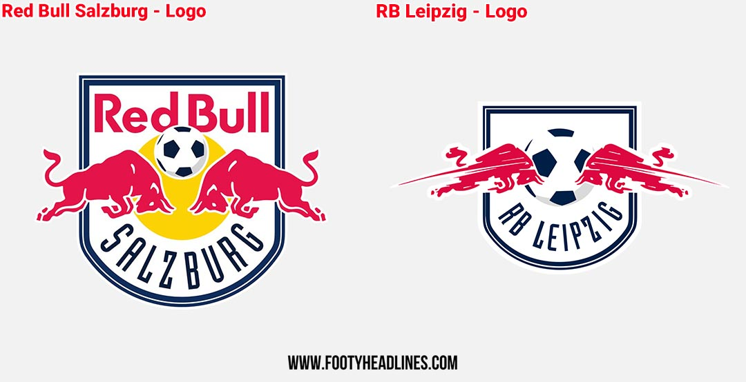 Fc Red Bull Salzburg Vs Rb Leipzig Logos Kits Names Stadiums Owners What Are The Differences Footy Headlines