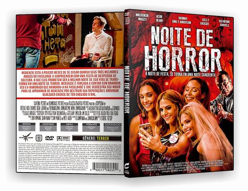 DVD-R Noite de Horror – AUTORADO