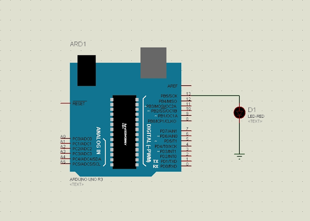 arduino proteus simulation