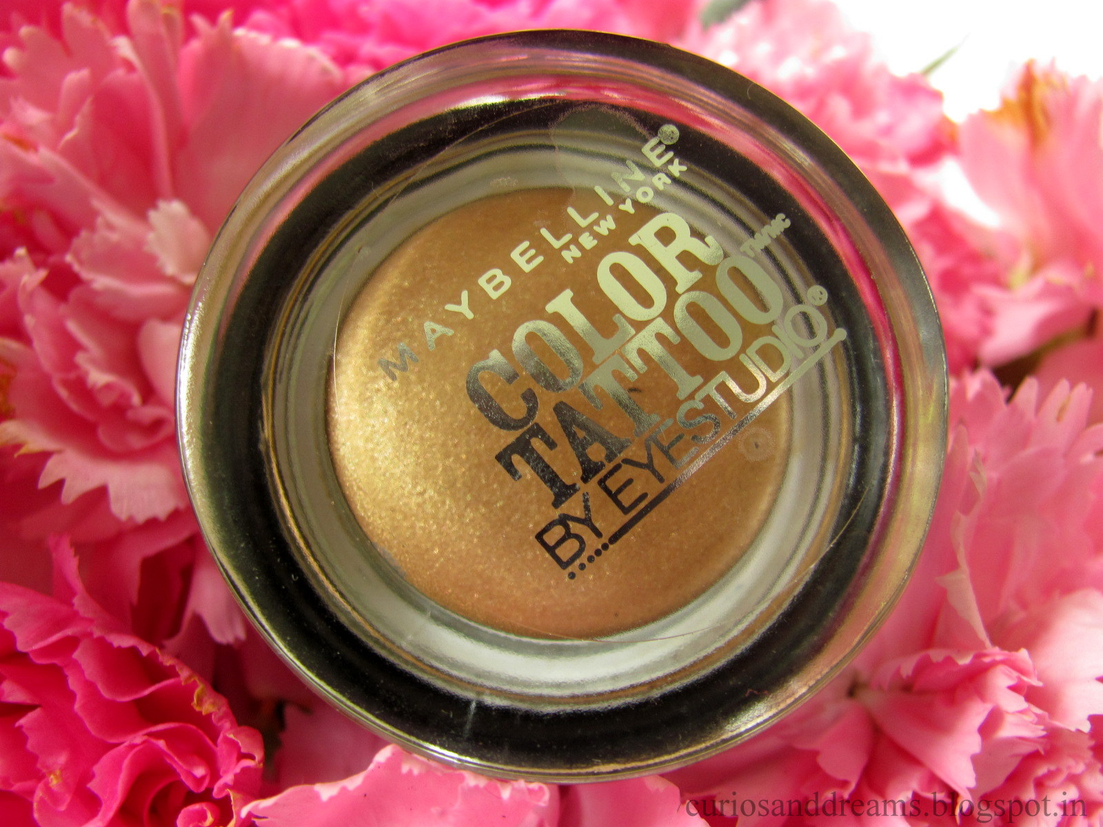 Maybelline Color Tattoo Bold Gold Review
