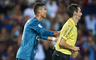 Cristiano Ronaldohas been handed a five-match ban