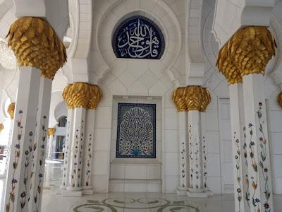 Abu Dhabi gran mezquita