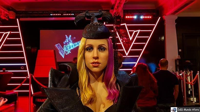 Lady Gaga - Madame Tussauds: Como visitar o museu de cera de Londres