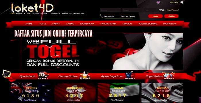 Situs togel terpercaya diskon besar