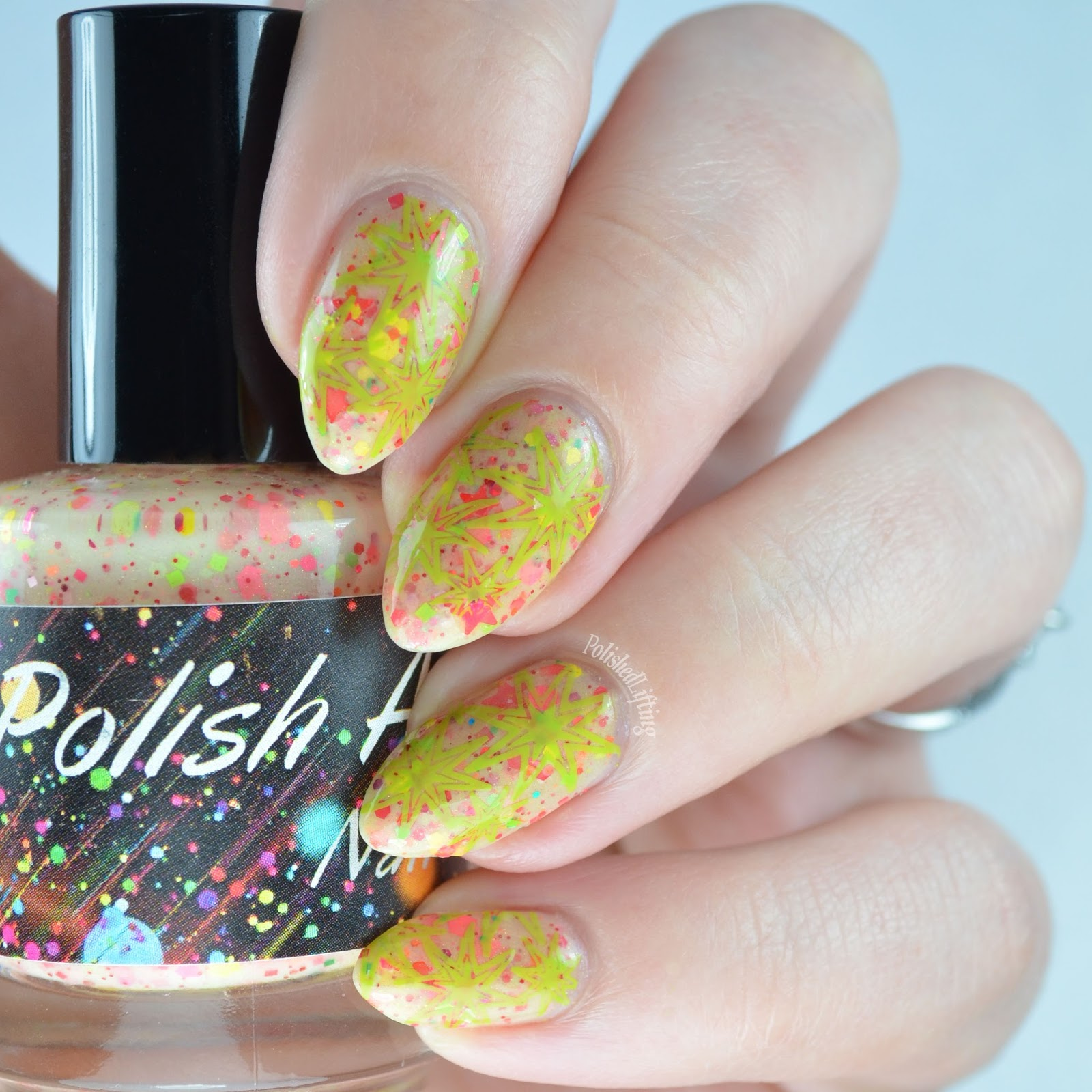 Polished Lifting: Retro Nail Art Featuring Polish Addict Nail Color ...