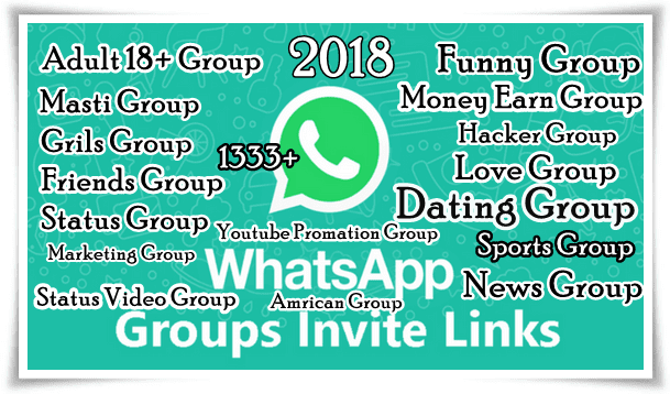 New Whatsapp Group Link 2018