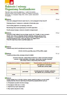 układ oddechowy i wydalniczy sprawdzian pdf