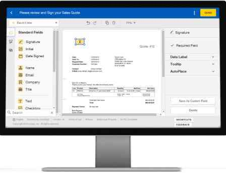 SAP e-signature management de DocuSign - Consultoria-SAP