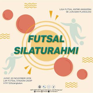 Futsal Silaturahmi Planologi 2018