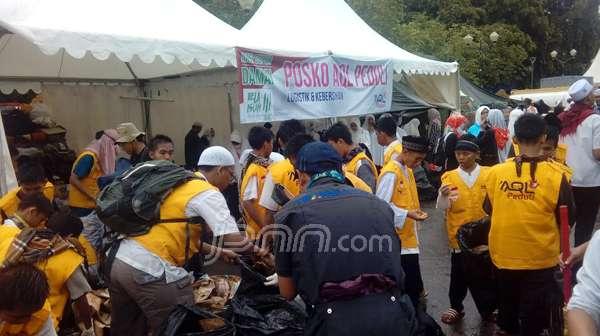 MasyaAllah, Keadaan Monas Sangat Bersih Setelah Aksi 212