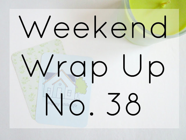 Weekend Wrap Up No. 38 from Courtney's Little Things