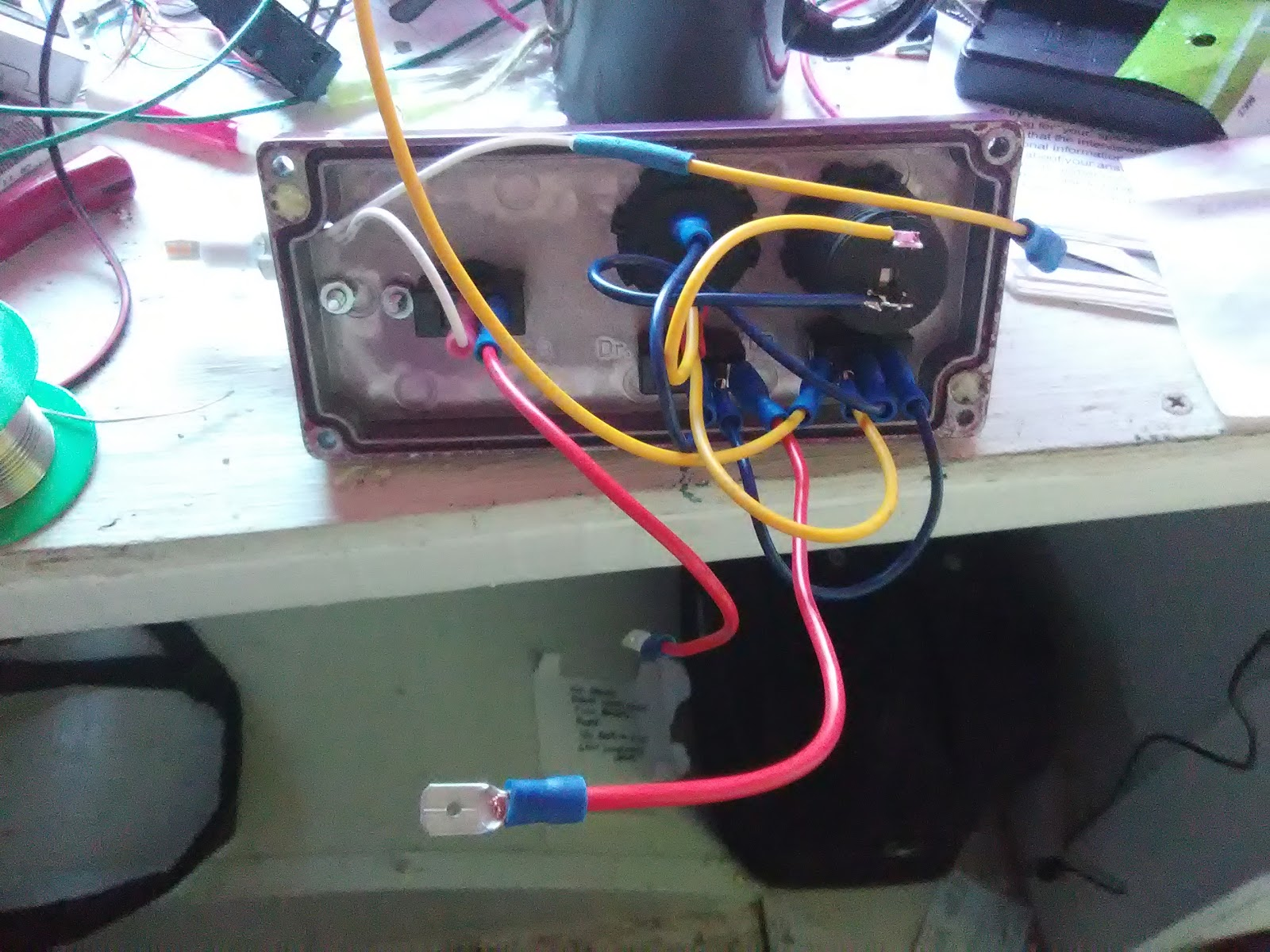 My Portable Home March 2018 Pull Out Fuse Box I Spent Quite A While Working On The Inside Of Totally Lacked Right Angled Connectors So At One Point Just Had To Soldering Iron