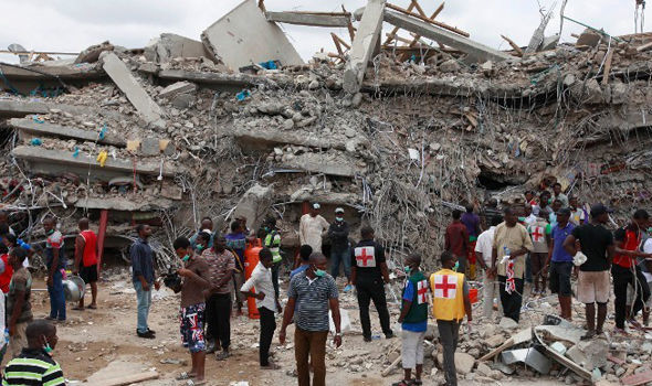 200 feared dead in Nigeria church collapse