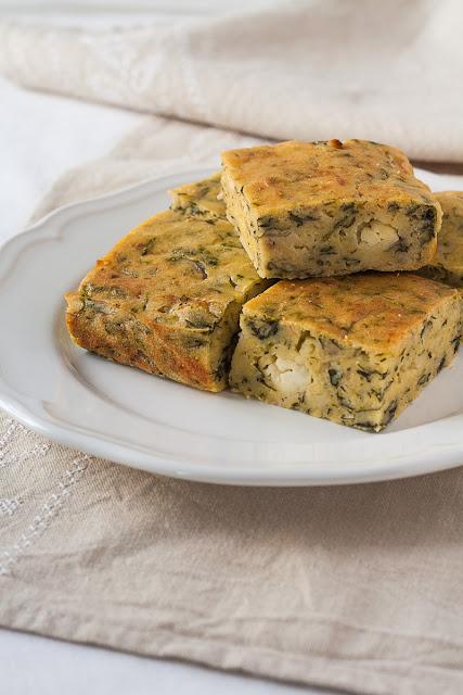 Projara sa sirom i povrćem