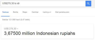 Kurs Dolar ke Rupiah Firefox