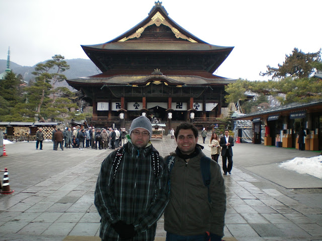 Templo Zenko-ji en Nagano