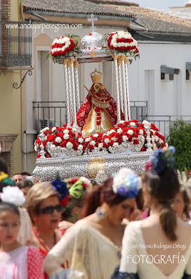 Procesión Morenita de Lopera