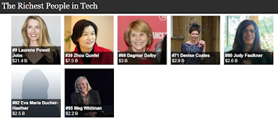 7 Wanita Terkaya di Dunia Berkat Teknologi