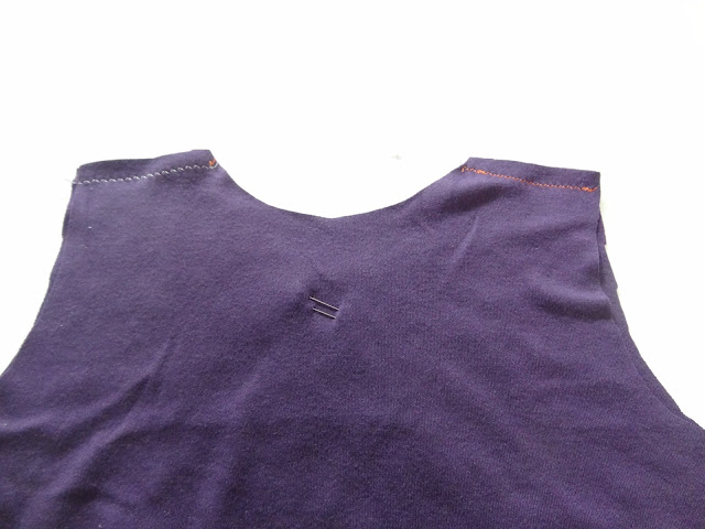 Sewn shoulder seams