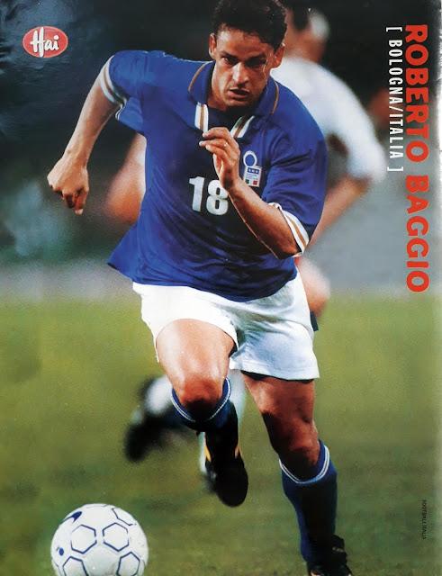 ROBERTO BAGGIO OF ITALY 1997