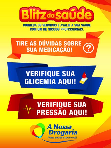 c5a722267f Blitz da Saúde nesta segunda (21) no TopShopping. InícioNova IguaçuBaixada  Fluminense