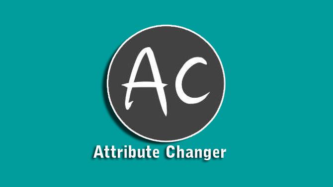 Attribute Changer